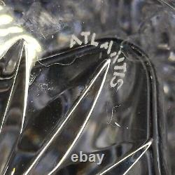 1 (One) ATLANTIS FERNANDO Cut Lead Crystal Square Decanter Signed DISCONTINUED