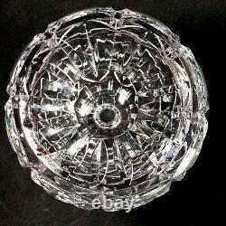 1 (One) ATLANTIS JOSE Cut Lead Crystal Hourglass Decanter Signed DISCONTINUED