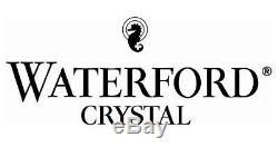 1 (One) VTG WATERFORD LISMORE Cut Lead Crystal Footed Bud Vase Signed