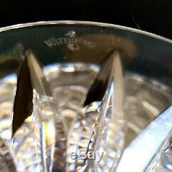 1 (One) WATERFORD BALLINA Cut Lead Crystal Compote RARE NEW Signed-DISCONTINUED