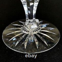1 (One) WATERFORD BALLINA Heavy Cut Lead Crystal Compote- Signed DISCONTINUED