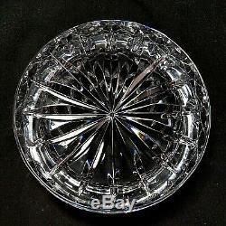 1 (One) WATERFORD LISMORE Cut Lead Crystal Champagne Wine Bottle Coaster-Signed