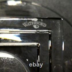 1 (One) WATERFORD METROPOLITAN Cut Lead Crystal 8 Footed Bowl -Signed DISCONT