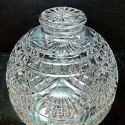 1 WATERFORD AMERICA'S HERITAGE Cut Lead Crystal Benjamin Franklin Liberty Bowl