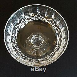 4 (Four) WATERFORD LISMORE Cut Lead Crystal Champagne Tall Sherbet Glasses