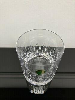 4 WATERFORD ENIS Cut Lead Crystal Double Old Fashioned Whisky Rocks Glass Set