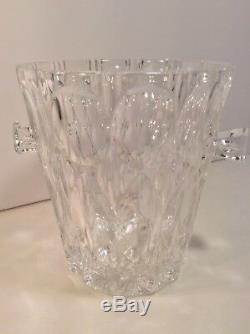 BLEIKRISTALL 24% Lead Crystal over 24% PbO Ice Bucket with Handles Hand Cut