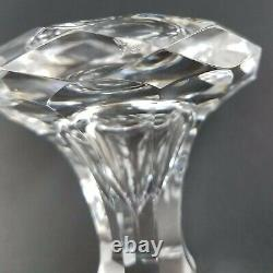 Baccarat Malmaison Cut Full-Lead Crystal Wine Decanter with Stopper 11.75