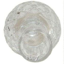 Godinger Crystal Legends Full Lead Hand Cut Christmas Tree Top Finial Topper 11