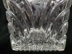 Hand-cut Crystal Clear 24% Lead Cookie Jar/Biscuit Canister