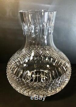 Lead Crystal Hurricane GLASS replacement Vintage 9.5 in Cut glass antique shade