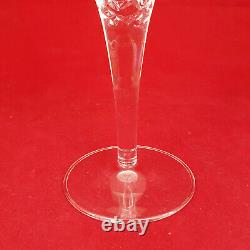 Royal Doulton Hand-cut 24% Lead Crystal Dorchester Champagne Flutes Boxed 6
