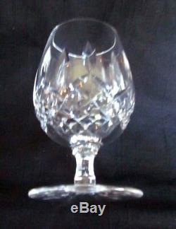 Set/6 Waterford Cut Irish Lead Crystal Lismore Wine small Brandy Snifters