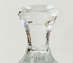 Shannon Godinger Olympia Lead Cut Crystal Domed Tall Cake Plate Made in Poland