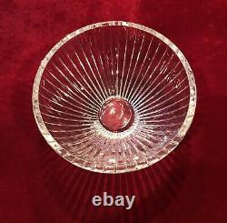 Stunning PEERAGE by ASTRAL Cut Lead Crystal Hand Blown Large Bowl 9.5D x 6.25T