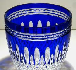 Waterford Clarendon Cobalt Cut to Clear Champagne Blue Ice Bucket FREE Shipping