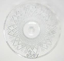 Waterford Crystal Large Cut Leaded Crystal Glass Sullivan 13 Bowl